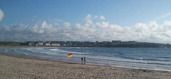 Portrush East Strand Beach