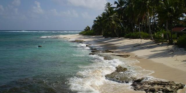 San Andres beach