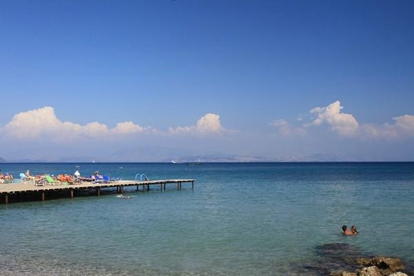Corfu, Dasia beach