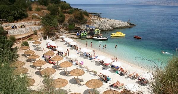 Corfu, Kassiopi Beach