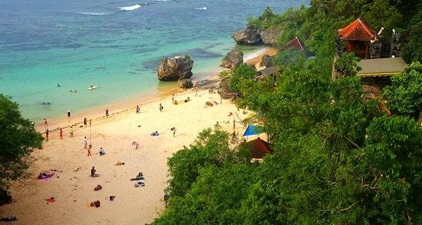 Padang beach, Bali, Indonesia