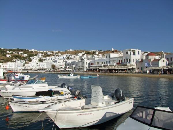 Mykonos boats