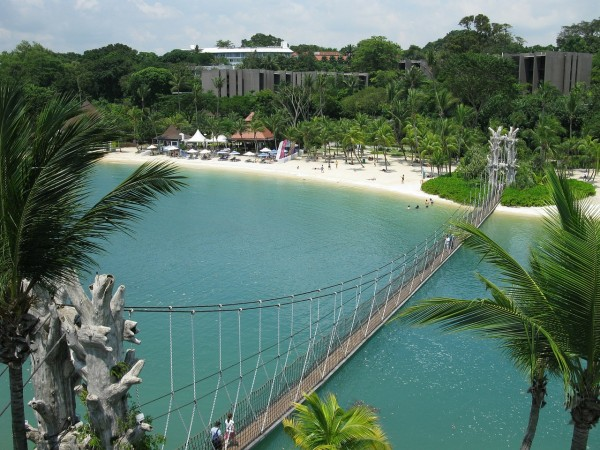 Sentosa Island beach
