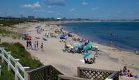Crescent Beach on Block Island