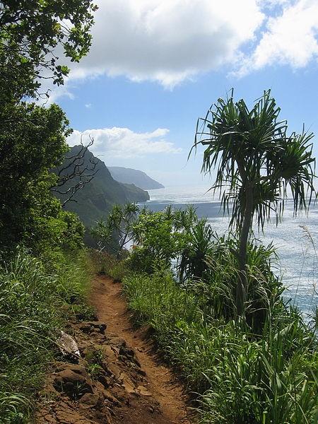 Kalalau Trail along the Na Pali Coast