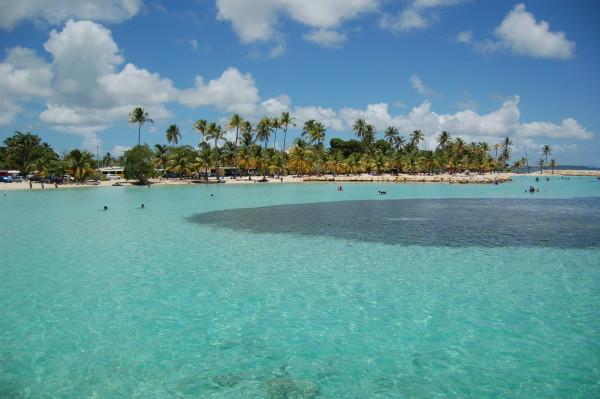 sainte anne beach guadeloupe