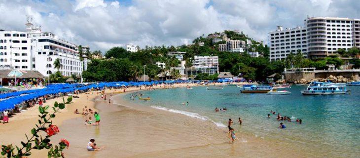 Caleta beach, Acapulco