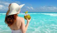 Women beach